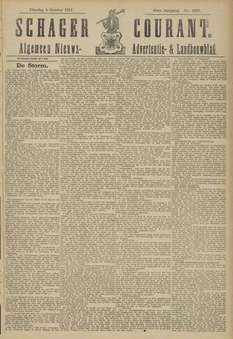 Schager Courant 1911-10-03