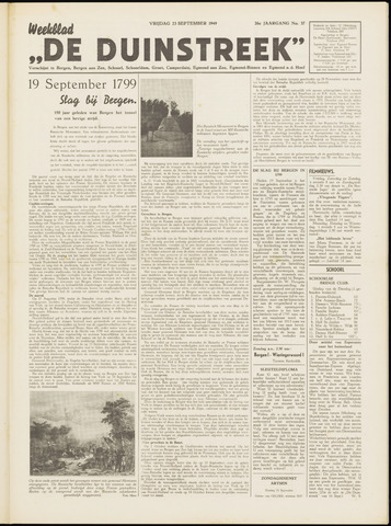 De Duinstreek 1949-09-23