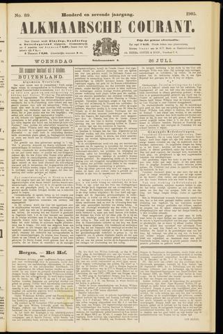 Alkmaarsche Courant 1905-07-26