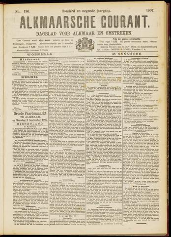 Alkmaarsche Courant 1907-08-14