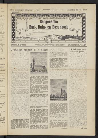 Bergensche bad-, duin- en boschbode 1949-06-25