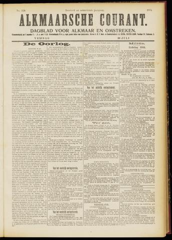 Alkmaarsche Courant 1915-07-30