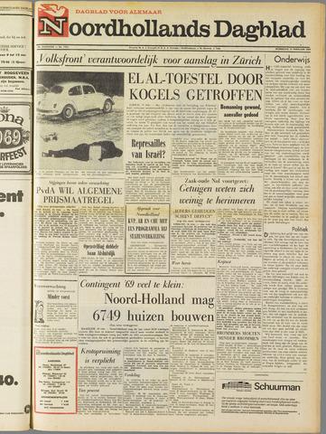 Noordhollands Dagblad : dagblad voor Alkmaar en omgeving 1969-02-19