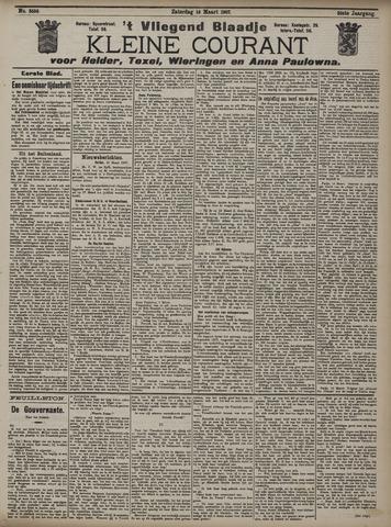 Vliegend blaadje : nieuws- en advertentiebode voor Den Helder 1907-03-16