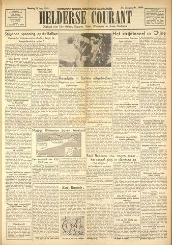 Heldersche Courant 1949-08-29