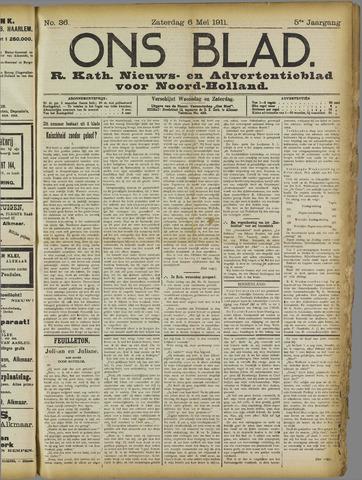 Ons Blad : katholiek nieuwsblad voor N-H 1911-05-06