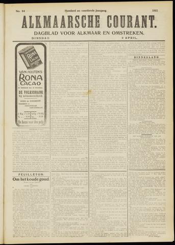 Alkmaarsche Courant 1912-04-09