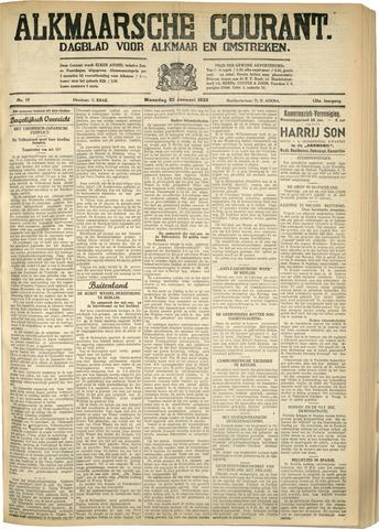 Alkmaarsche Courant 1933-01-23