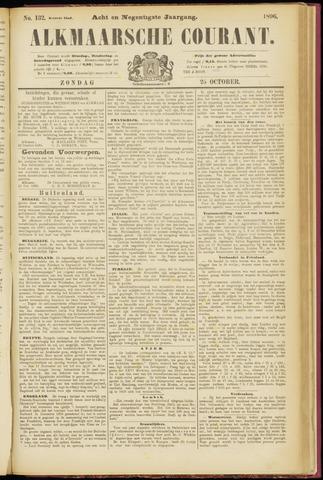 Alkmaarsche Courant 1896-10-25