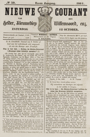 Nieuwe Courant van Den Helder 1861-10-12