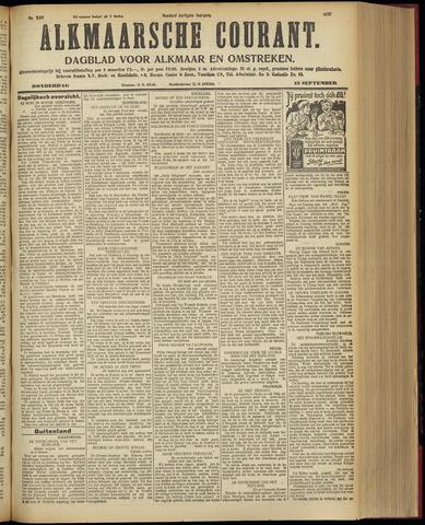 Alkmaarsche Courant 1928-09-13