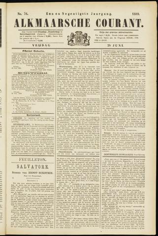 Alkmaarsche Courant 1889-06-28