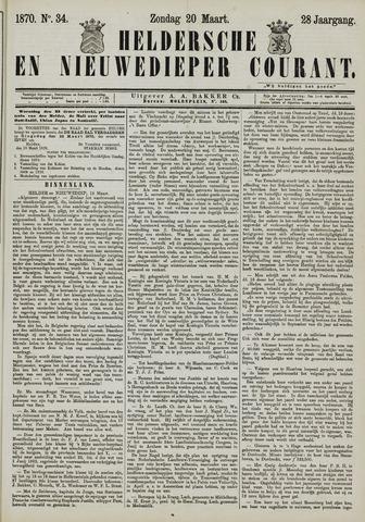 Heldersche en Nieuwedieper Courant 1870-03-20