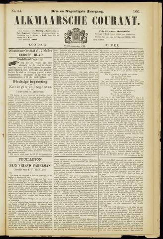 Alkmaarsche Courant 1891-05-31