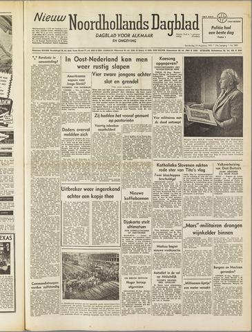 Nieuw Noordhollandsch Dagblad : voor Alkmaar en omgeving 1951-08-30