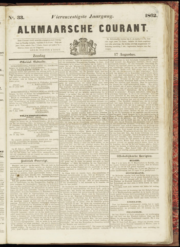 Alkmaarsche Courant 1862-08-17