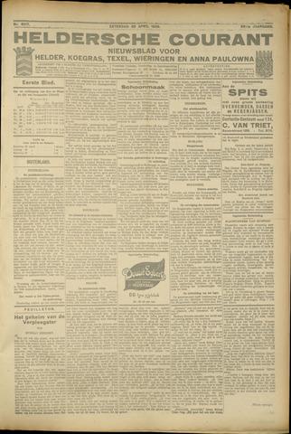 Heldersche Courant 1925-04-25