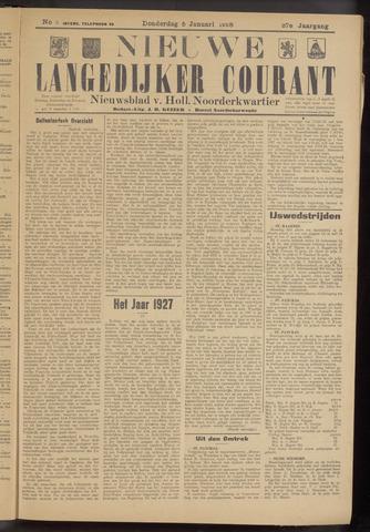 Nieuwe Langedijker Courant 1928-01-05