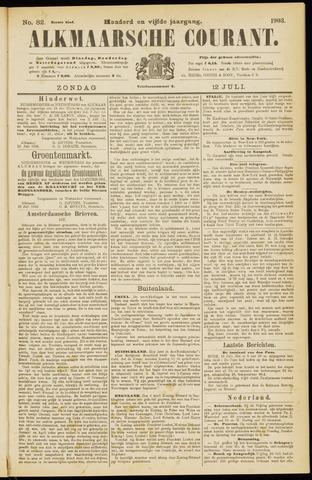 Alkmaarsche Courant 1903-07-12