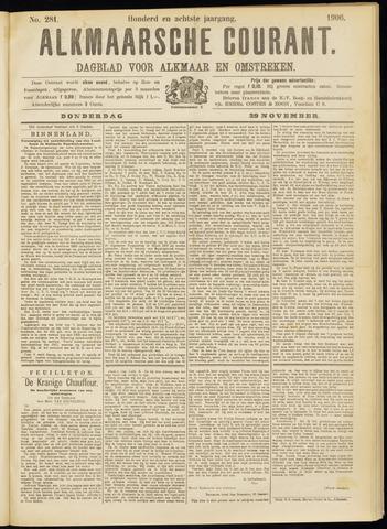 Alkmaarsche Courant 1906-11-29