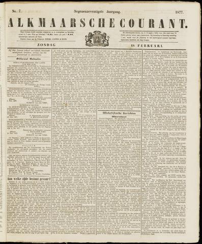 Alkmaarsche Courant 1877-02-18