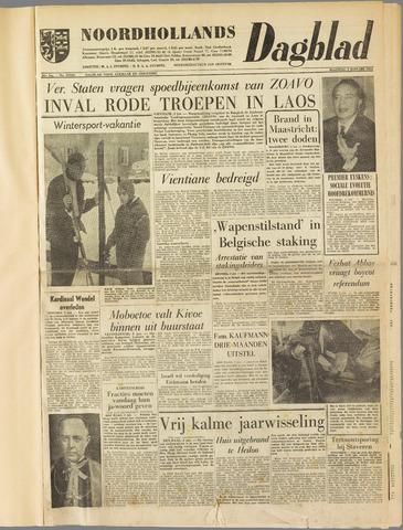 Noordhollands Dagblad : dagblad voor Alkmaar en omgeving 1961-01-02
