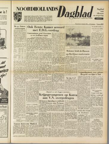 Noordhollands Dagblad : dagblad voor Alkmaar en omgeving 1954-01-21