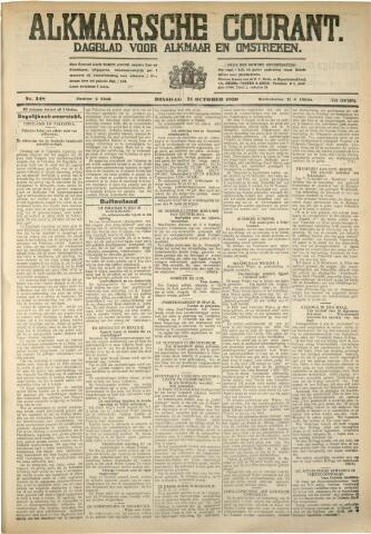 Alkmaarsche Courant 1930-10-21
