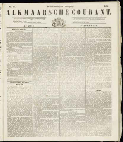 Alkmaarsche Courant 1871-08-27