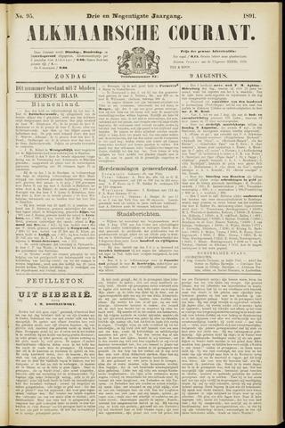 Alkmaarsche Courant 1891-08-09