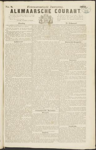 Alkmaarsche Courant 1869-02-21