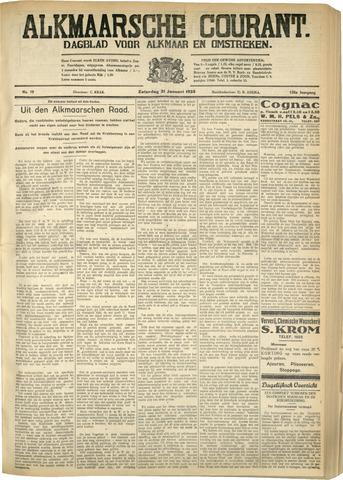 Alkmaarsche Courant 1933-01-21