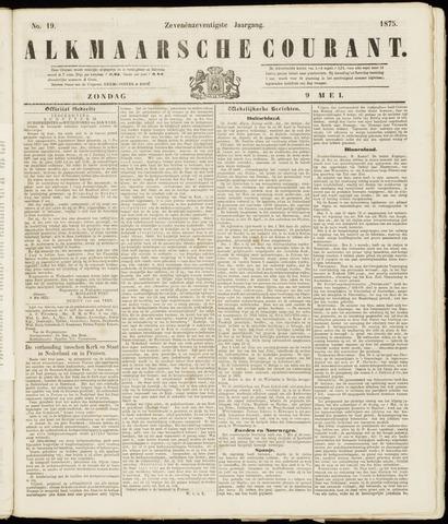 Alkmaarsche Courant 1875-05-09