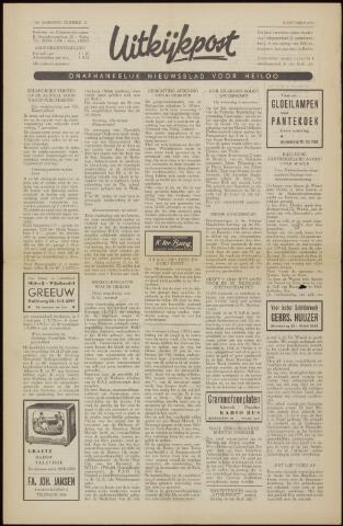 Uitkijkpost : nieuwsblad voor Heiloo e.o. 1958-10-24