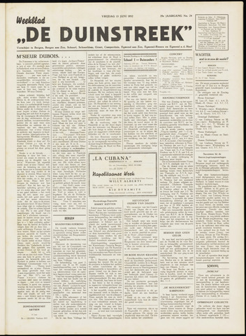 De Duinstreek 1952-06-13