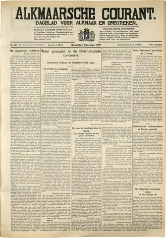 Alkmaarsche Courant 1937-11-01