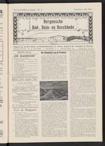 Bergensche bad-, duin- en boschbode 1935-07-06