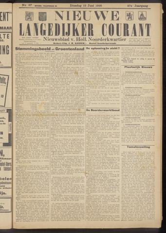 Nieuwe Langedijker Courant 1928-06-12