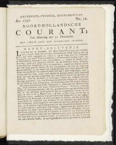 Noordhollandsche Courant 1798-12-31