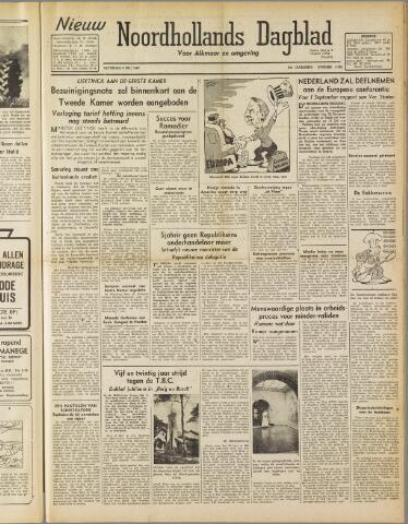 Nieuw Noordhollandsch Dagblad : voor Alkmaar en omgeving 1947-07-05