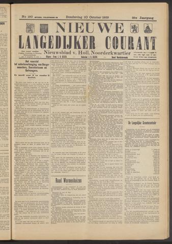 Nieuwe Langedijker Courant 1929-10-10