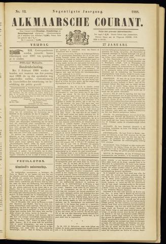 Alkmaarsche Courant 1888-01-27