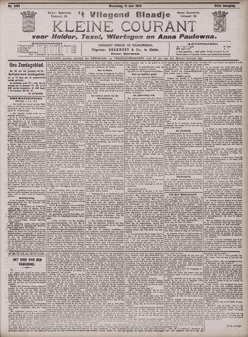 Vliegend blaadje : nieuws- en advertentiebode voor Den Helder 1903-06-10