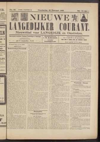 Nieuwe Langedijker Courant 1925-02-26