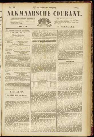 Alkmaarsche Courant 1883-02-25
