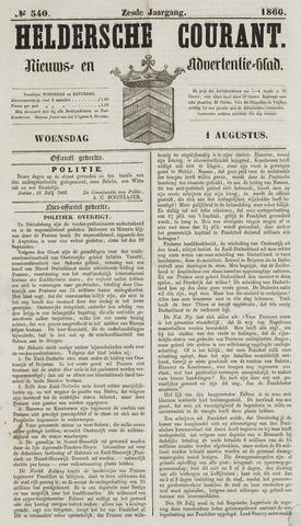 Heldersche Courant 1866-08-01