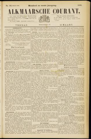 Alkmaarsche Courant 1899-03-10