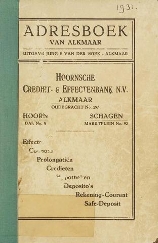 Adresboek van Alkmaar 1931-01-01