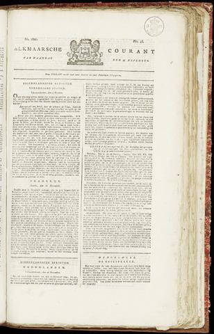 Alkmaarsche Courant 1821-11-26