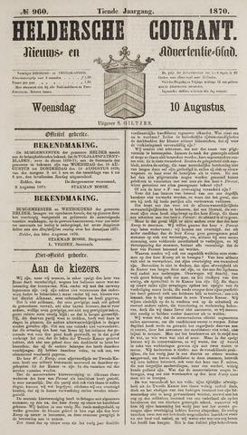 Heldersche Courant 1870-08-10